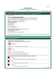 Safety data sheet - GC Europe