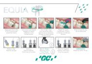 155209-GC-EQUIA TECHNICAL CARD.indd - GC Europe