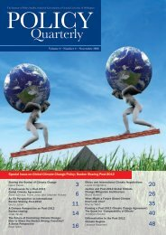 Sharing the Burden of Climate Change Policy Quarterly issue with ...