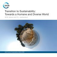 Transition to Sustainability: Towards a Humane and Diverse ... - IUCN