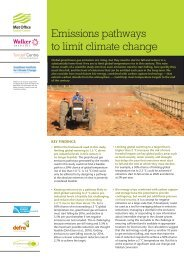 Emissions pathways to limit climate change (PDF, 2 MB) - Met Office