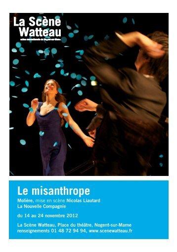 dossier présentation LE MISANTHROPE - La Scène Watteau