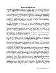 Renaissance-Humanismus - File UPI