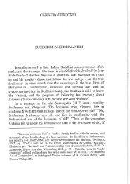 CHRISTIAN LINDTNER BUDDHISM AS BRAHMANISM - The Online ...