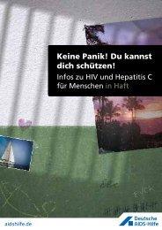 Keine Panik! Du kannst dich schützen! - Deutsche AIDS-Hilfe e.V.