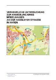 Verkehrliche Untersuchung zur Ansiedlung eines ... - Hagen