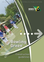 Bowling Green - Bowls Australia