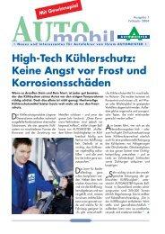High-Tech Kühlerschutz: Keine Angst vor Frost und - AUTOMEISTER