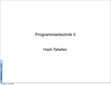Hash-Tabellen