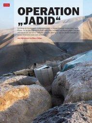 Die Operation Jadid - Bundeswehr