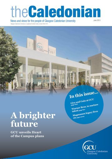 A brighter future - Glasgow Caledonian University