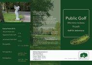 Public Golf - Golfclub Weselerwald eV