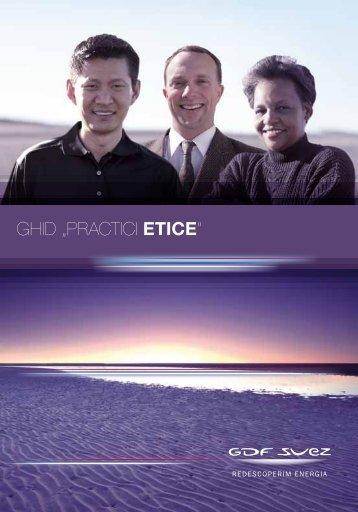 Ghidul de practici etice