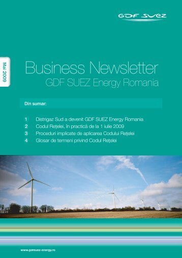 Business Newsletter - GDF SUEZ Energy România