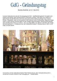 Weitere Infos und einige Bilder... - Gdg-steinfeld.de