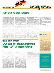 Journal Mai 2002 - gdp-deutschepolizei.de