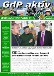 Publisher GdP aktiv 2010-09-20 - GdP Mannheim