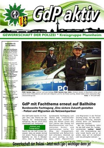 Publisher GdP aktiv 2011-10-11.pub - GdP Mannheim