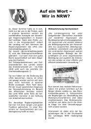 Politik vs - (GdP) - Kreisgruppe Recklinghausen