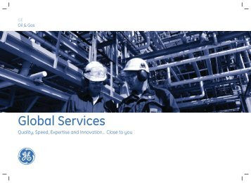 Global Services Catalog - GE Energy