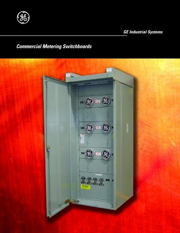 Commercial metering switchboards - GE Energy