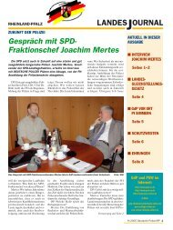Journal September 2005 - gdp-deutschepolizei.de