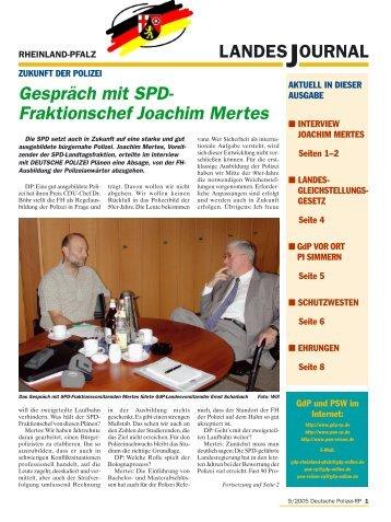 Journal September 2005 - gdp-deutschepolizei.de
