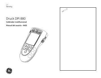 Druck DPI 800/802