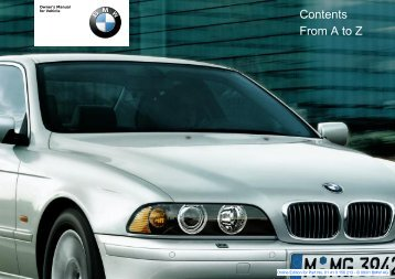 Online Edition for Part No. 01 41 0 156 213 - © 09/01 BMW AG - GE39