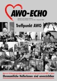 4. Quartal 2003 | Awo-Echo Ausgabe 144 - AWO Baden