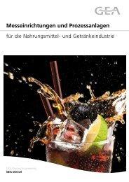 Messeinrichtungen und Prozessanlagen - GEA Diessel GmbH