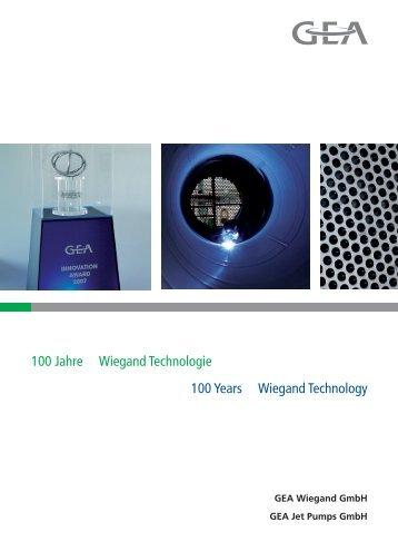 100 Jahre Wiegand Technologie 100 Years Wiegand Technology