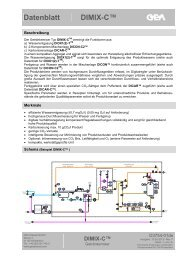 Datenblatt DIMIX-C™ - GEA Diessel GmbH