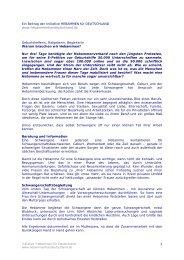 Ein Beitrag der Initiative HEBAMMEN für ... - Geburtskanal