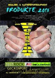 GECKOSPORT Katalog-Absicherung 2012 - geckosport.at