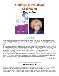 A Divine Revelation of Heaven - Divine Revelations