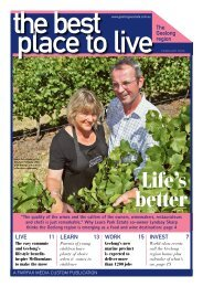 The best place To Live - City of Greater Geelong