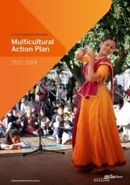 Multicultural Action Plan (PDF - 2.5MB) - City of Greater Geelong