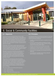 6. Social & Community Facilities - City of Greater Geelong