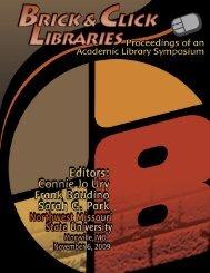 Brick and Click Libraries - D-Scholarship@pitt