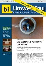 EDS-System | Sonderdruck biUmweltbau, Ausgabe 6/07 ... - Geiger