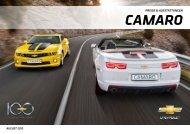 2012 Camaro Preis- und Ausstattungsliste - Geigercars