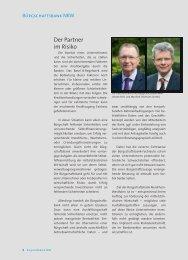 bb-nrw gb2011 der partner im risiko - Bürgschaftsbank NRW