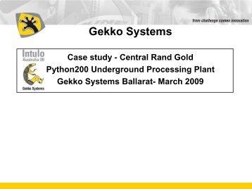 Why Python? - Gekko Systems