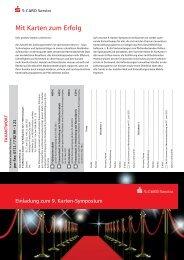 9. Karten-Symposium der S-CARD Service - GeldKarte
