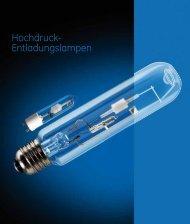 Hochdruck-Entladungslampen (Spectrum) - Katalog (DE) - GE Lighting