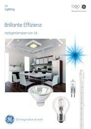 Halogen Lamps - Brochure (DE) - GE Lighting