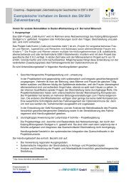 Zielvereinbarung Traeger Dornahof - Gem-esf-bw.de