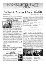 11 Umbruch_Leerumbr.qxd - Gemeinde Bisingen