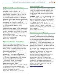 Vereinsnachrichten 120310.pub - Gemeinde Bisingen